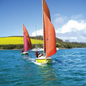 Island Cruising Club Squibs, Salcombe Devon