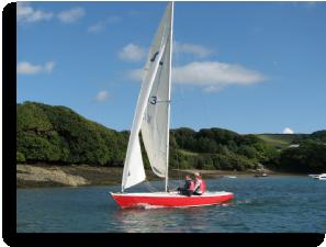 Island Cruising Club Soling, Salcombe Devon