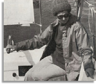 Joy Sleightholme - still sailing