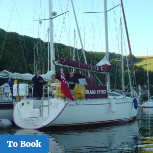 Skippered Cruises on Island Cruising Club Yacht from Salcombe Devon