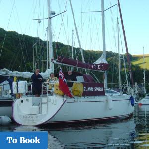 Skippered Cruises on Island Cruising Club Yacht from Salcombe Devon