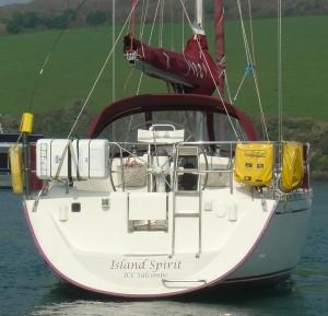 Island Spirit RYA Training Yacht, Salcombe Devon